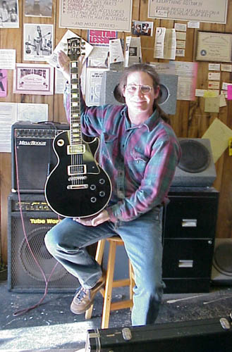 Wade with Les Paul refin